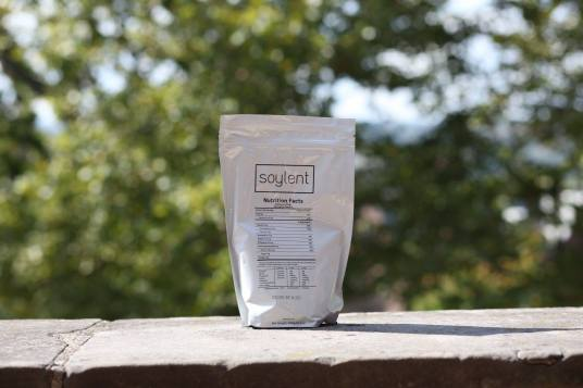some soylent on a house ledge